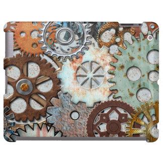 CASO del iPAD de STEAMPUNK, Barely There Funda Para iPad