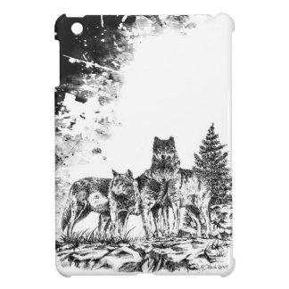 Caso del iPad de tres lobos mini