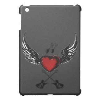 Caso del iPad de Wingedheart de la guitarra mini