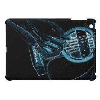 Caso del iPad del amante de la música del guitarri iPad Mini Funda