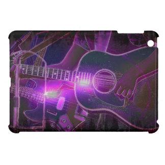 Caso del iPad del amante de la música del guitarri iPad Mini Protector