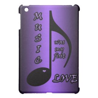 Caso del ipad del amor de la música