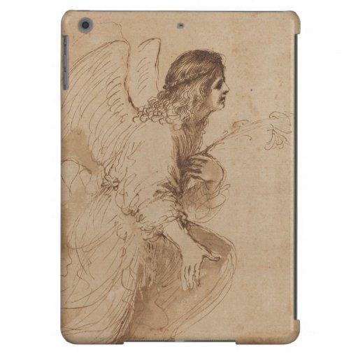 Caso del iPad del ángel del vintage Funda Para iPad Air