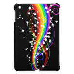Caso del iPad del arco iris y de las estrellas min iPad Mini Carcasas