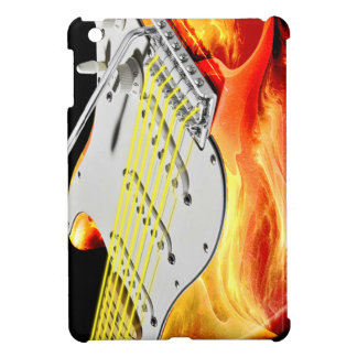Caso del iPad del arte 2 de la guitarra eléctrica
