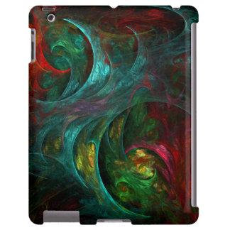 Caso del iPad del arte abstracto de Nova de la Funda Para iPad