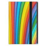 Caso del iPad del arte del arco iris mini con Kick iPad Mini Protectores
