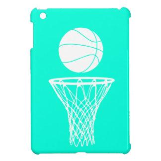 Caso del iPad del baloncesto de la turquesa mini