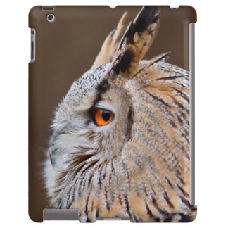 Caso del iPad del búho de Eagle del siberiano