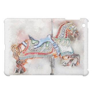Caso del iPad del caballo 1 del carrusel