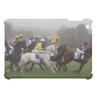 Caso del iPad del campo del caballo de raza