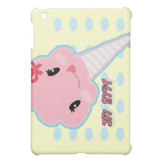 Caso del iPad del caramelo de algodón de Kawaii