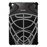 Caso del iPad del casco del portero del hockey min iPad Mini Carcasa