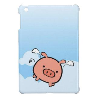 Caso del iPad del cerdo del vuelo mini