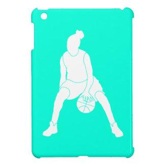 Caso del iPad del chica del baloncesto de la turqu iPad Mini Protector