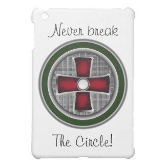 Caso del iPad del círculo de Ted Dekker mini