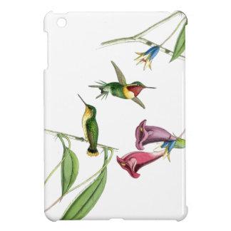 Caso del iPad del colibrí y de las flores mini