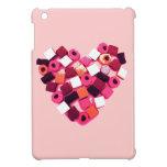 caso del ipad del corazón del caramelo mini iPad mini fundas