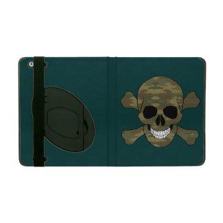 Caso del iPad del cráneo y de la bandera pirata