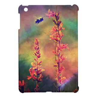 Caso del iPad del diamante del otoño de la abeja