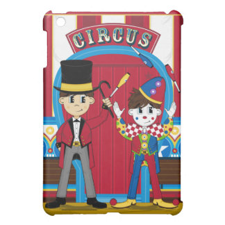 Caso del ipad del director de pista de circo y del