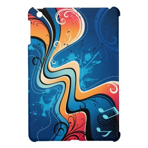 Caso del iPad del diseño gráfico 17 mini