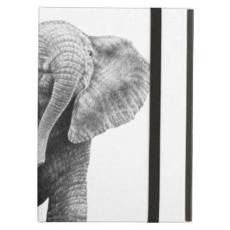 Caso del iPad del elefante africano del bebé