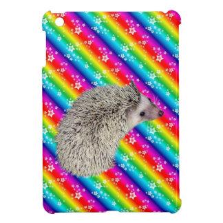 Caso del iPad del erizo del arco iris mini iPad Mini Protector