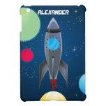 Caso del iPad del espacio exterior de Rocket de lo iPad Mini Protector