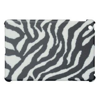 Caso del iPad del estampado de zebra