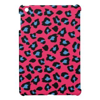 Caso del iPad del estampado leopardo