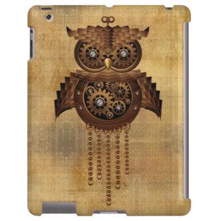 Caso del iPad del estilo del vintage del búho de S Funda Para iPad
