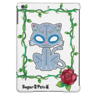 Caso del iPad del gatito del azúcar