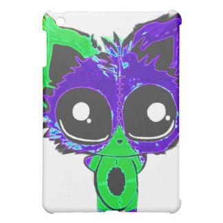 Caso del iPad del gato de Kewl