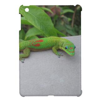 Caso del iPad del Gecko del día del polvo de oro m iPad Mini Protector