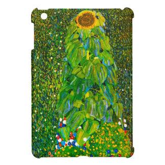 Caso del iPad del girasol de Gustavo Klimt mini iPad Mini Carcasas