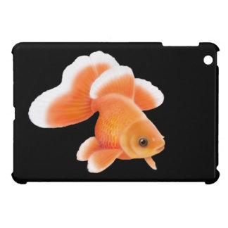 Caso del iPad del Goldfish de la cola de milano de