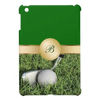 Caso del iPad del golf mini