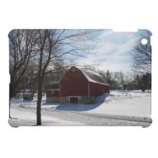 Caso del iPad del granero del invierno mini