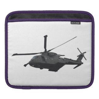Caso del iPad del helicóptero de MERLIN Funda Para iPads