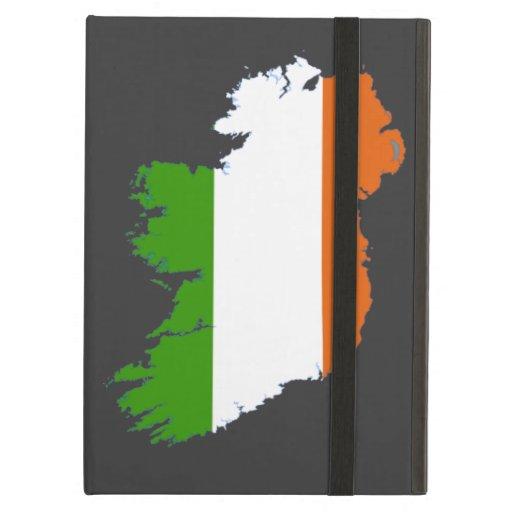 Caso del iPad del iCase de Irlanda Powis con Kicks