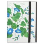 Caso del iPad del iCase de Powis, flores de la cor