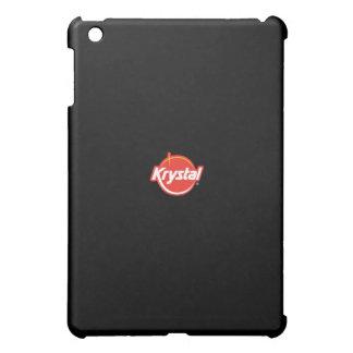 Caso del iPad del logotipo de Krystal