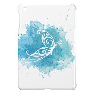 Caso del iPad del logotipo de la crisálida mini