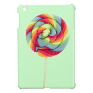 Caso del iPad del lollipop del caramelo del arco i iPad Mini Fundas