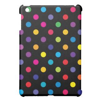 Caso del iPad del lunar del caramelo mini