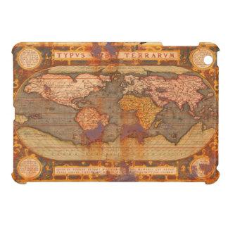 Caso del iPad del mapa de Viejo Mundo del vintage