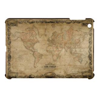 Caso del iPad del mapa de Viejo Mundo del vintage  iPad Mini Funda