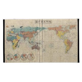 Caso del iPad del mapa del mundo de 1853 japoneses