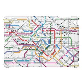 Caso del ipad del mapa del subterráneo de Tokio